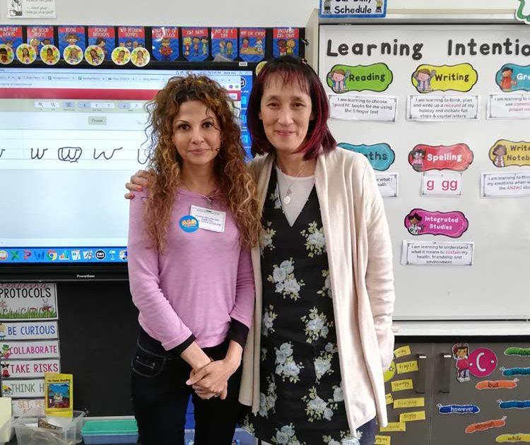 Melbourne school joyfully welcomes Sima Barmania
